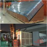 customized packing and securing of reefer containter
